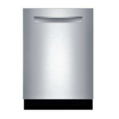 800 Series Top Control Tall Tub Pocket Handle Dishwasher in Stainless Steel with Stainless Steel Tub, CrystalDry, 40dBA