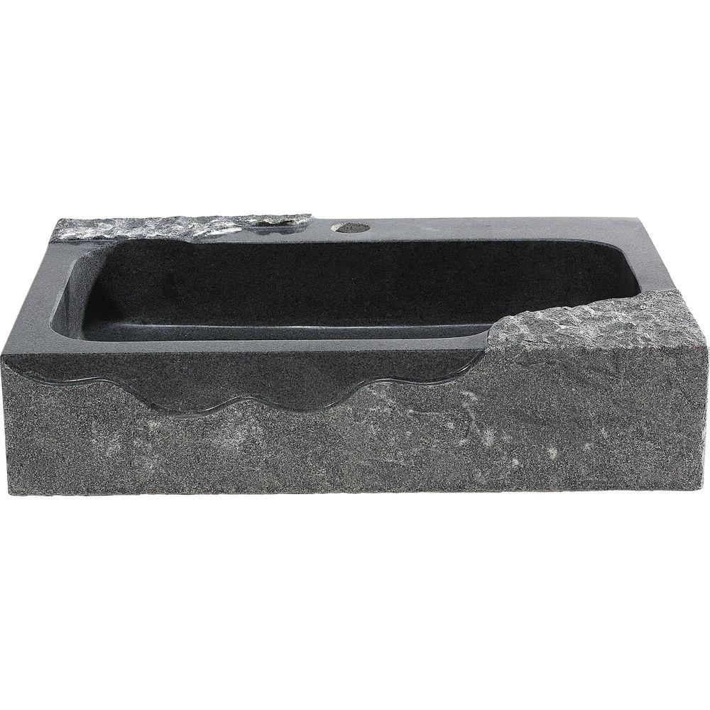 Y Decor Jaki Vessel Sink In Artistic Black