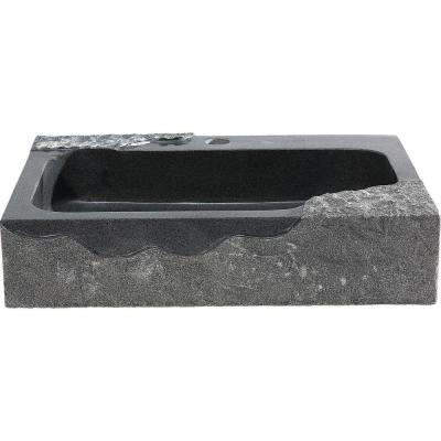 Jaki Vessel Sink in Artistic Black