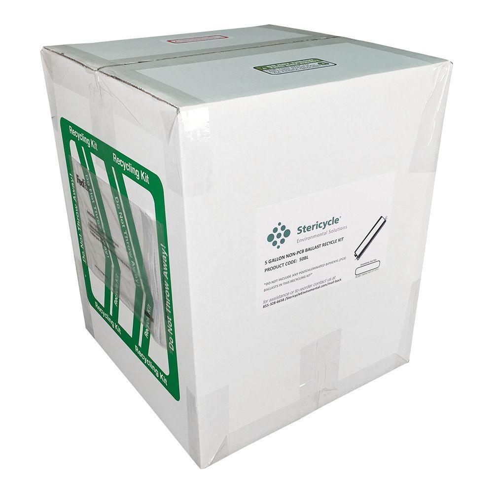 5 Gallon Ballast (non-PCB) Pail Prepaid Recycling Kit