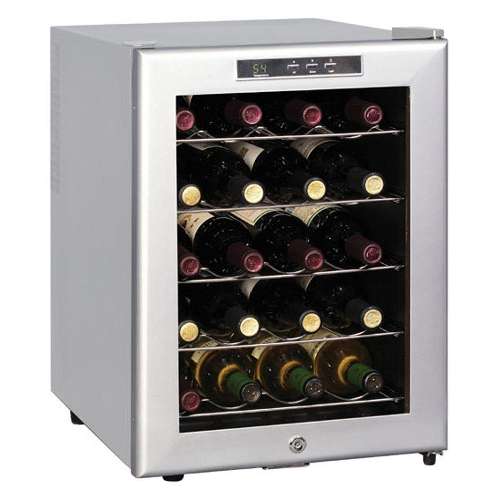 SPT 20-Bottle Wine Cooler in Platinum