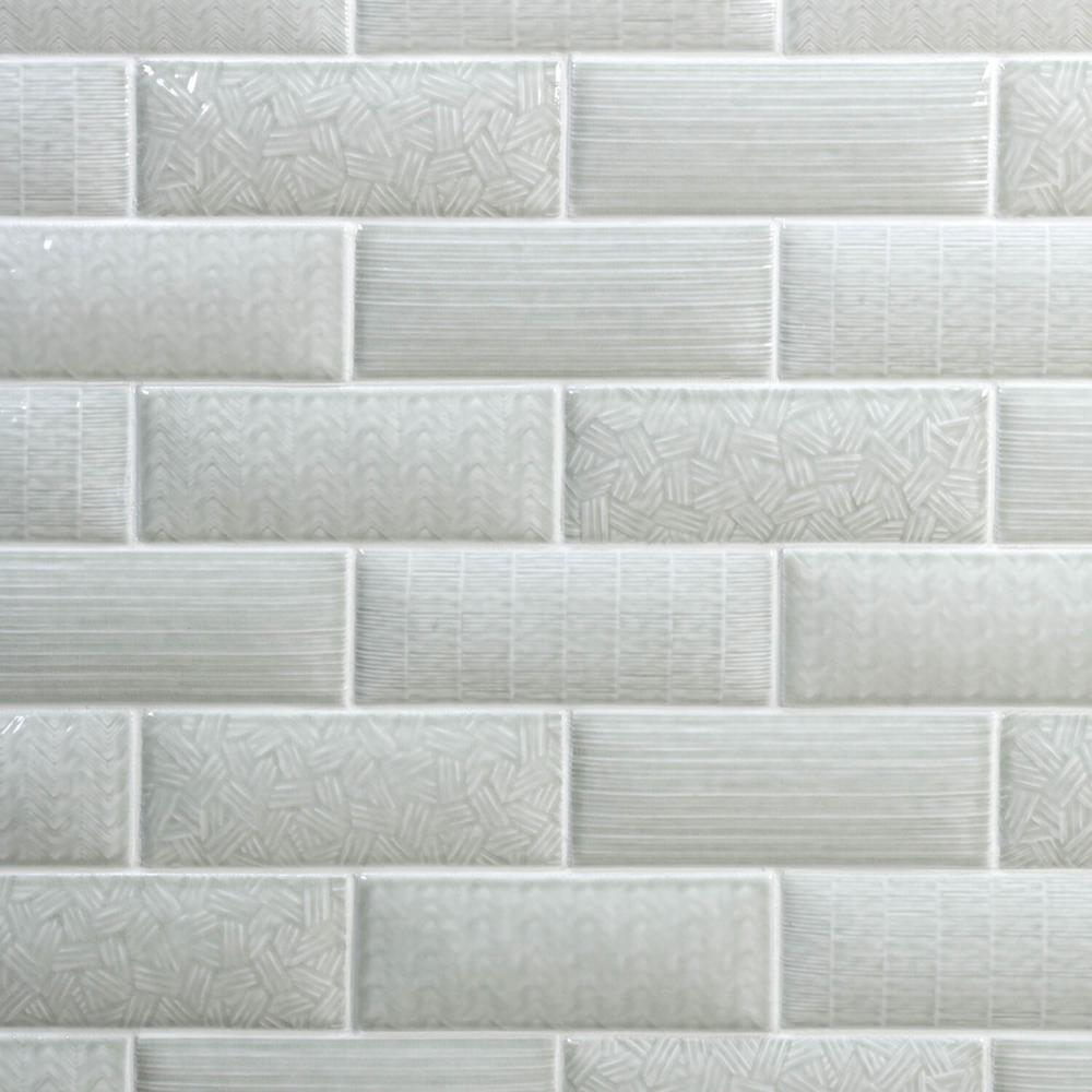 - Ivy Hill Tile Dallas Pillowed Gray 3 In. X 8 In. 12mm Polished