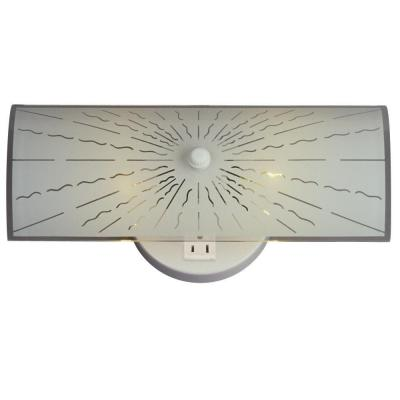 Mika 2-Light White Wall Sconce