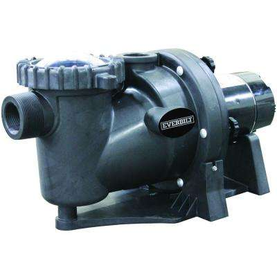 1.5 HP 230-Volt 2-Speed Pool Pump with Protector Technology