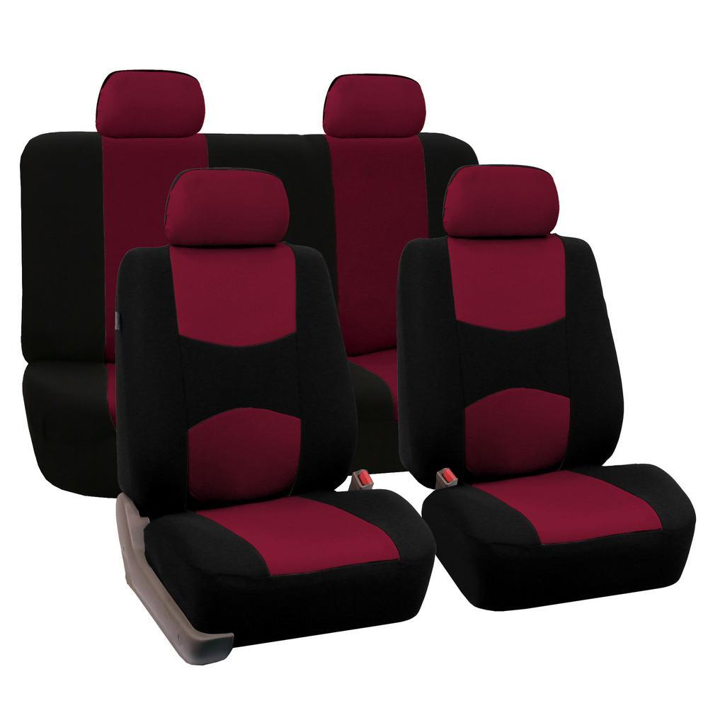 Flat Cloth 21 in. x 21 in. x 2 in. Full Set Seat Covers