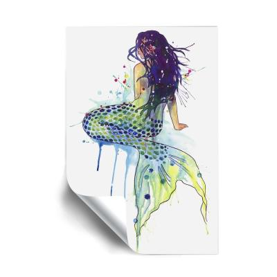 'Mermaid' Removable Wall Mural