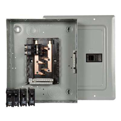 100 Amp 10-Space 20-Circuit Main Breaker Load Center Renovation Value Pack