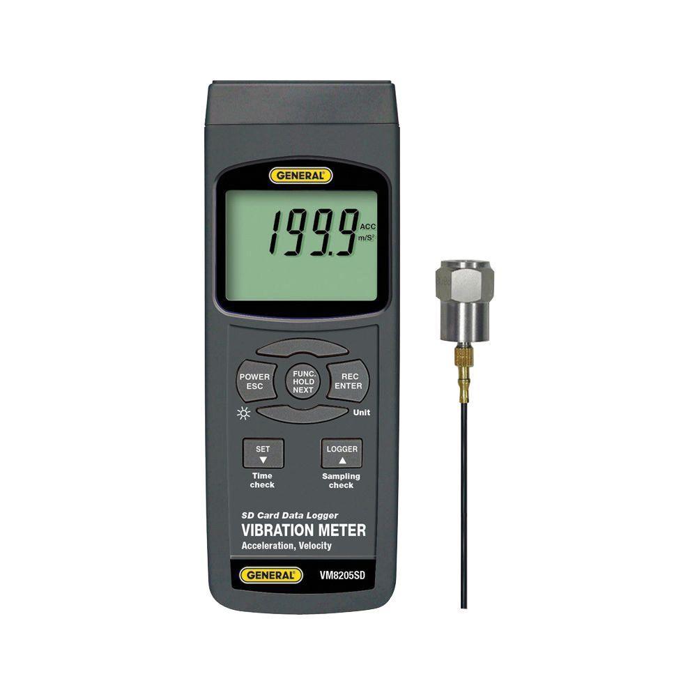 Data Logging Vibration Meter