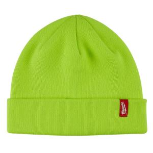 A-SAFETY Hi Viz Skull Cap Daily Knit Ribbed Beanie and Running Soft Cap Ultimate Thermal Retention Headwear