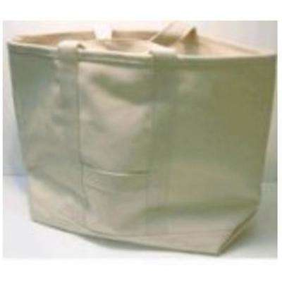 Natural Canvas Water Resistant Contractor Tote Bag