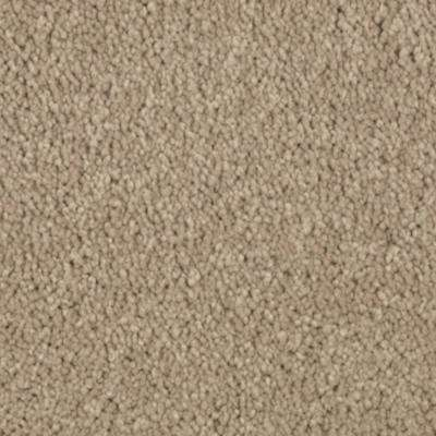 Carpet Sample - Gazelle I - In Color Carrington Beige Texture 8 in. x 8 in.