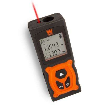 120-Foot Multi-Unit Compact Digital Laser Distance Measure with Backlit LED Screen