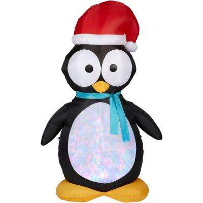 7.5 ft. H Kaleidoscope Inflatable Penguin