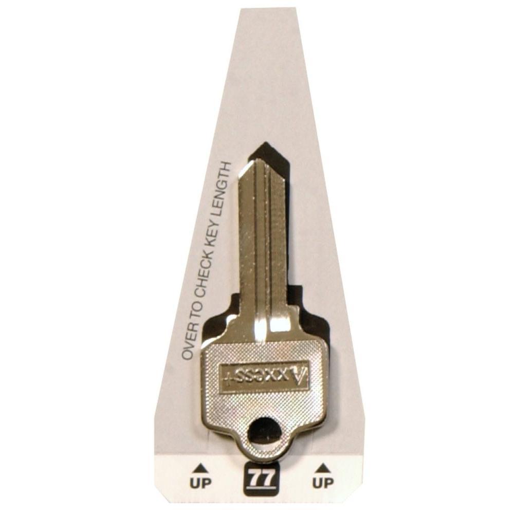 #77 Blank Arrow and Segal Specialty Key