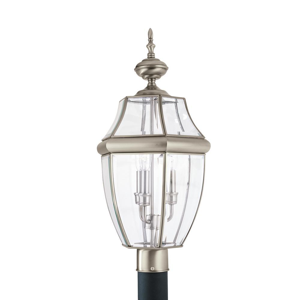 Sea Gull Lighting Lancaster 3-Light Outdoor Antique