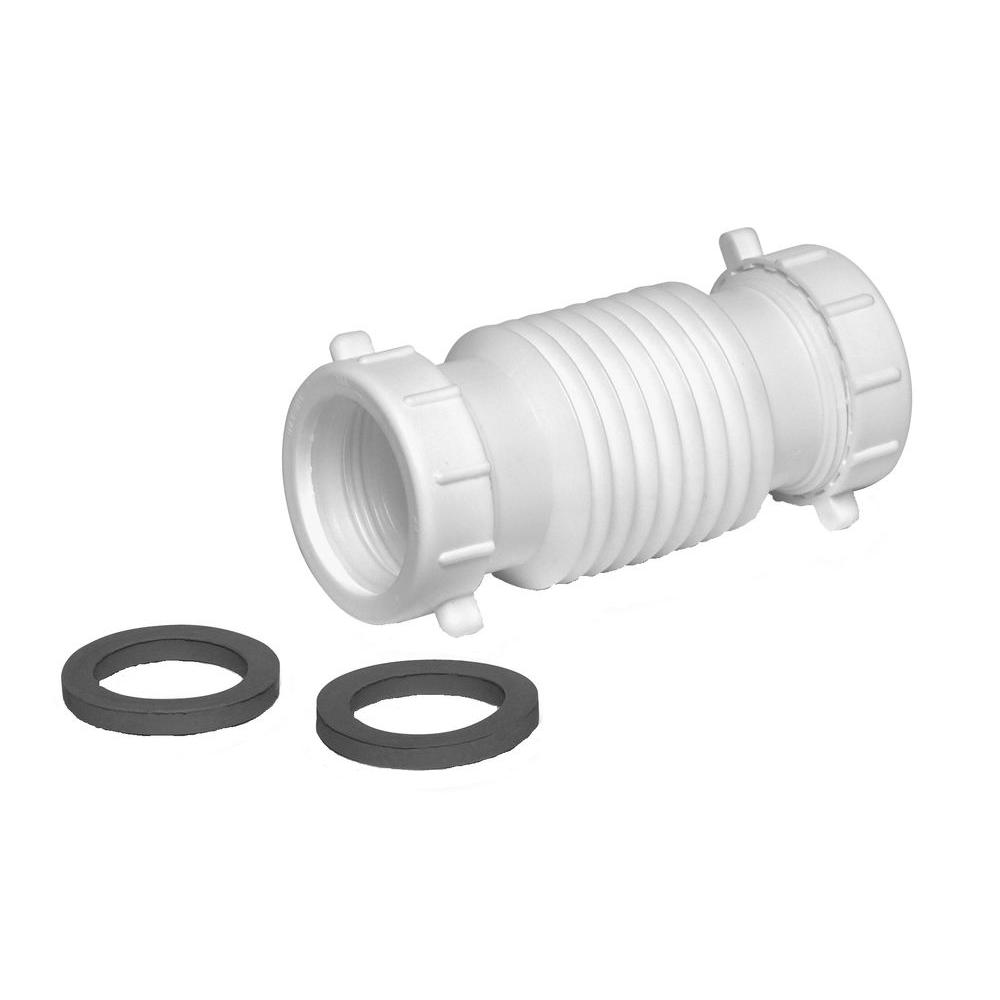 Everbilt 1-1/2 in. x 1-1/2 in. PVC Form N Fit Coupling-C3522845 ...