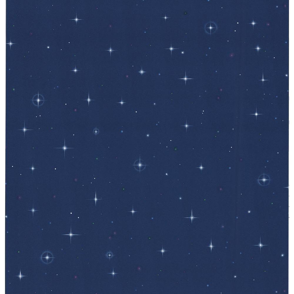 Blue Star Lights Wallpaper Sample