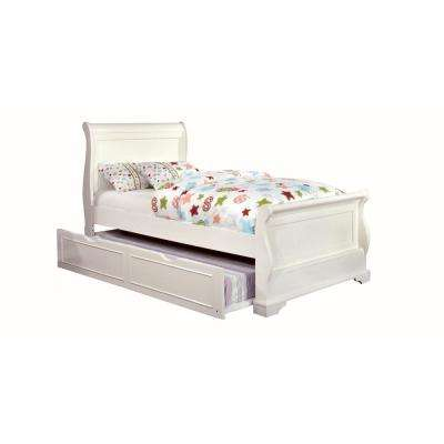 Mullan Twin Bed in White Finish