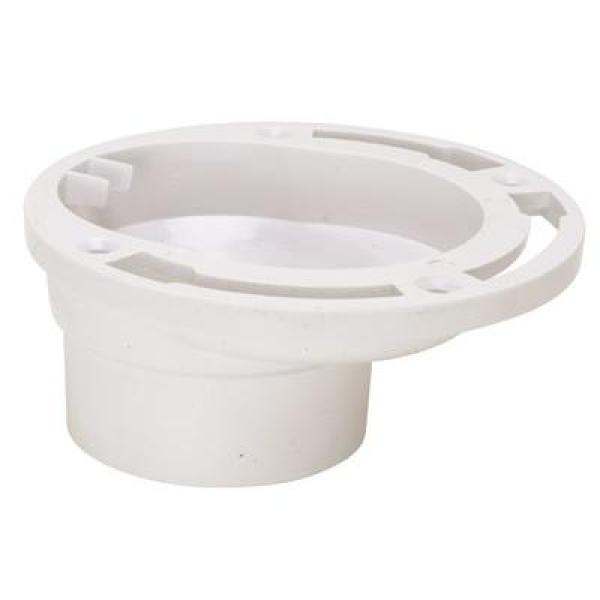 Proplus 3 In X 4 In Pvc Schedule 40 Offset Closet Flange 94848 The Home Depot