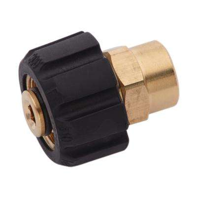 1/4 in. FPT x Female Metric Adapter for Pressure Washers