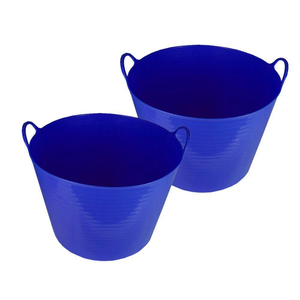 Storage Tub In Blue (2 Pack)
