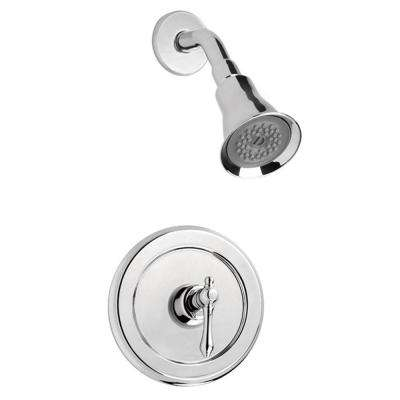 Bellver Single-Handle 1-Spray Shower Faucet in Chrome (Valve Included)