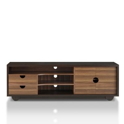 Evo 63 in. Wenge 2-Drawer TV Stand