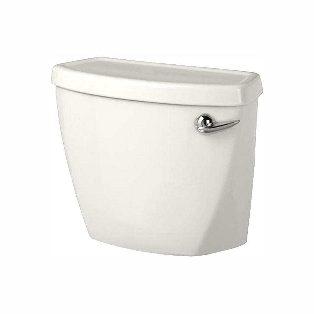 American Standard Baby Devoro Right Hand Trip Lever 1 28 Gpf Single Flush Toilet Tank Only In White 4019828 020 The Home Depot