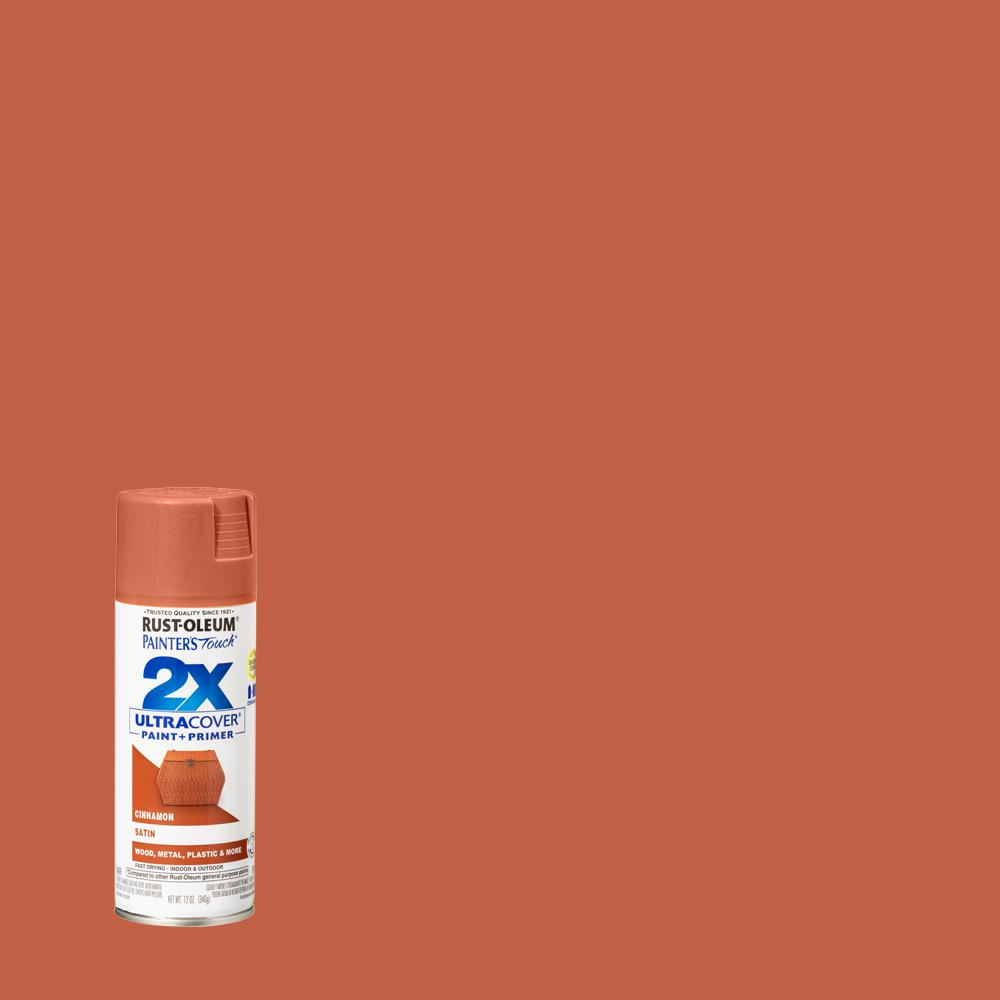 Rust Oleum Painter S Touch 2x 12 Oz Satin Cinnamon