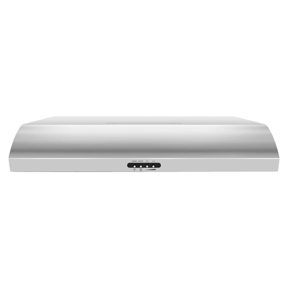 Whirlpool 30 in. Convertible Range Hood in Stainless Steel