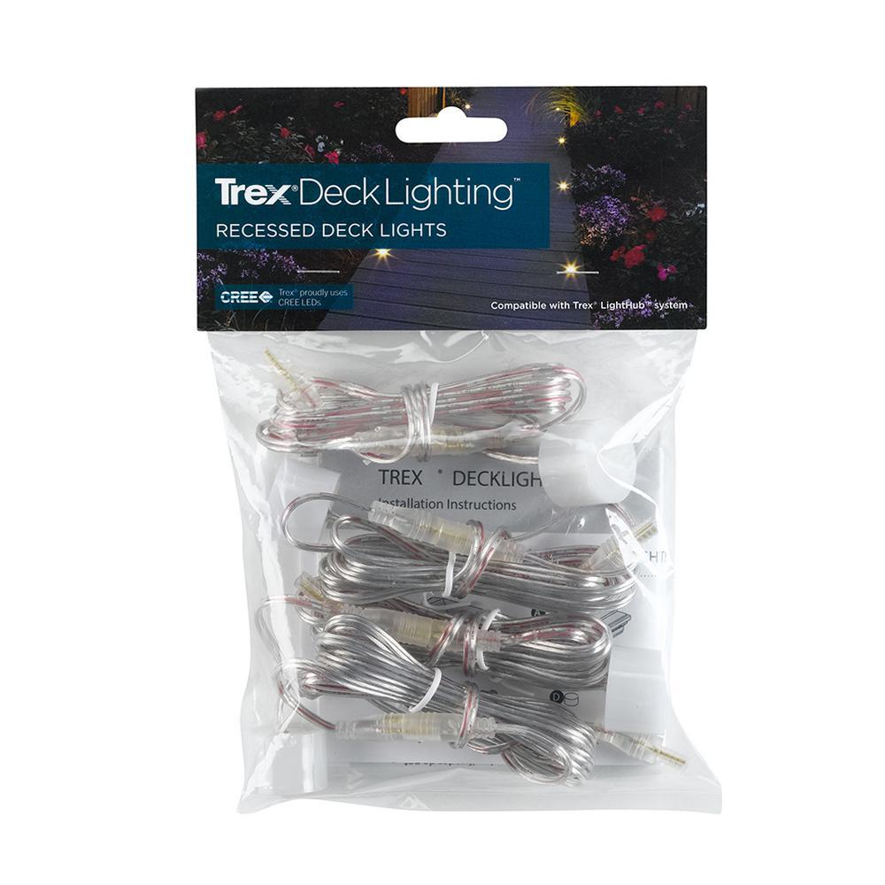 DeckLighting 1 in. Recessed Deck Lights (4-Pack)