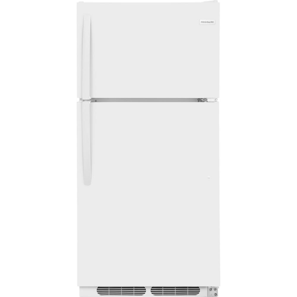 15 cu. ft. Top Freezer Refrigerator in White
