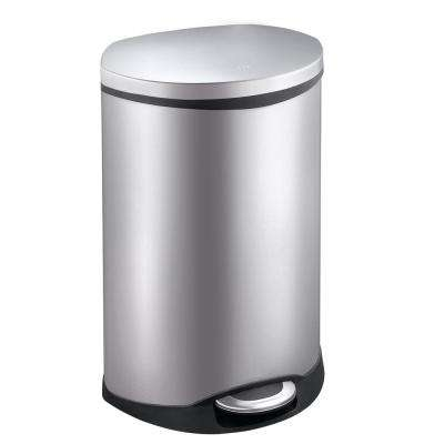 Shell Stainless Steel 50 in. l Step Trash Can