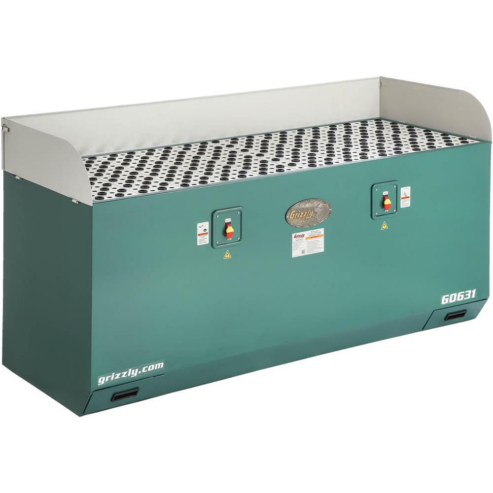 Grizzly Industrial 28 In X 79 In Extra Long Downdraft Table