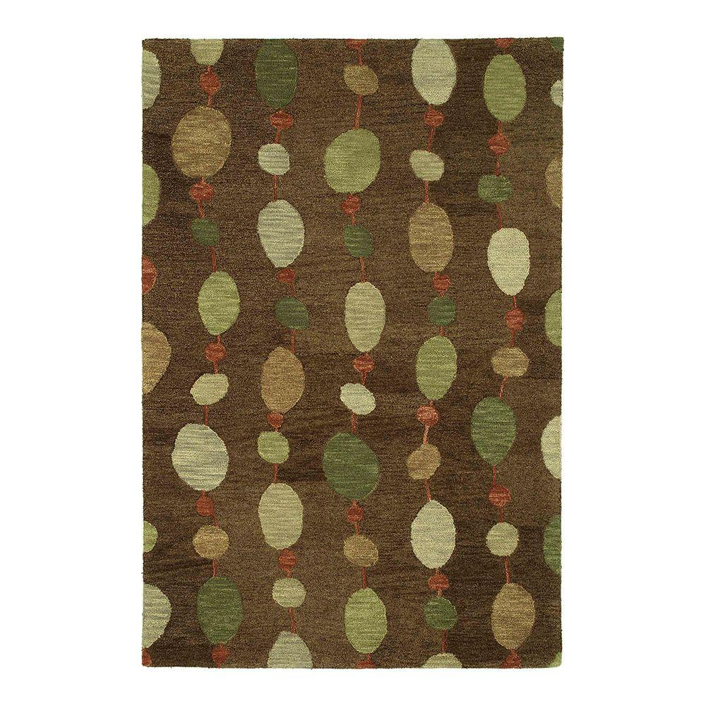 Kaleen Casual Persimmon Brown 5 ft. x 7 ft. 6 in. Area Rug