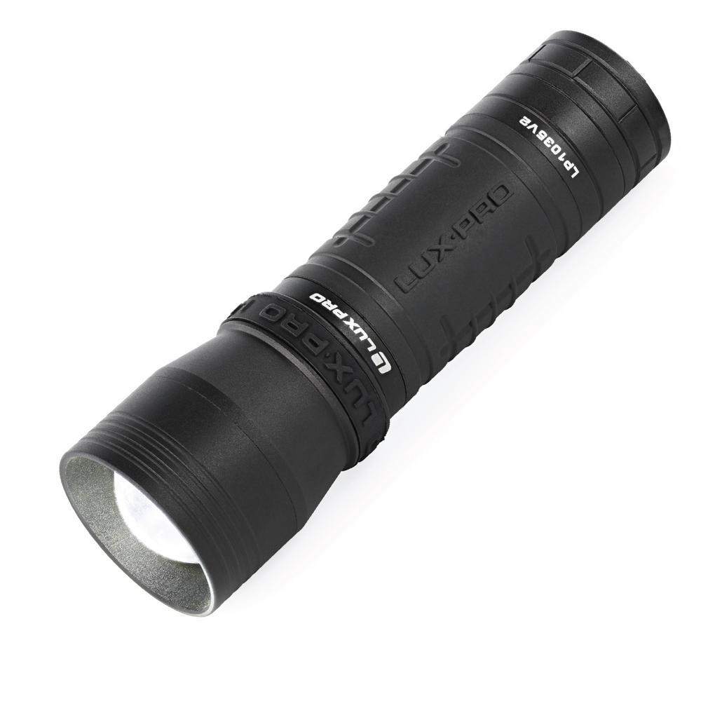 Focus 570 Lumens LED Handheld Flashlight with TackGrip