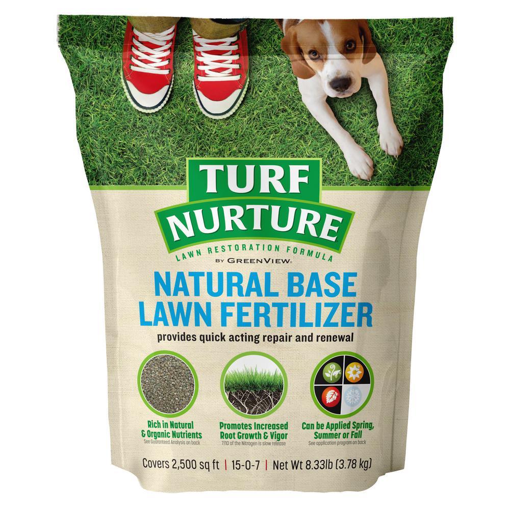 8.33 lbs. Natural Dry Lawn Base Fertilizer