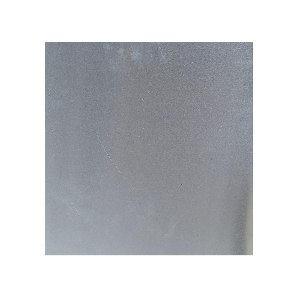 12 in. x 24 in. Plain Aluminum Sheet in Silver