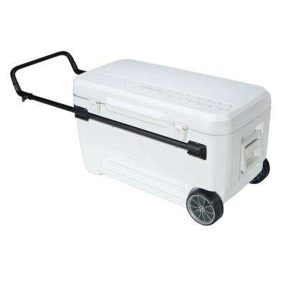 Glide Pro 110 Qt. Cooler 2-Wheeled with Retractable Handles
