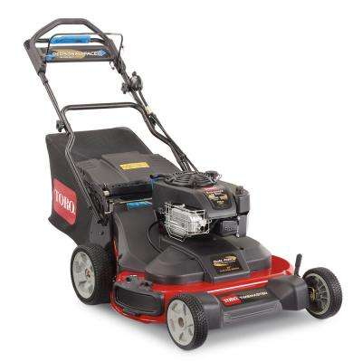 TimeMaster 30 in. Briggs and Stratton Electric Start Walk-Behind Gas Self-Propelled Mower with Spin-Stop