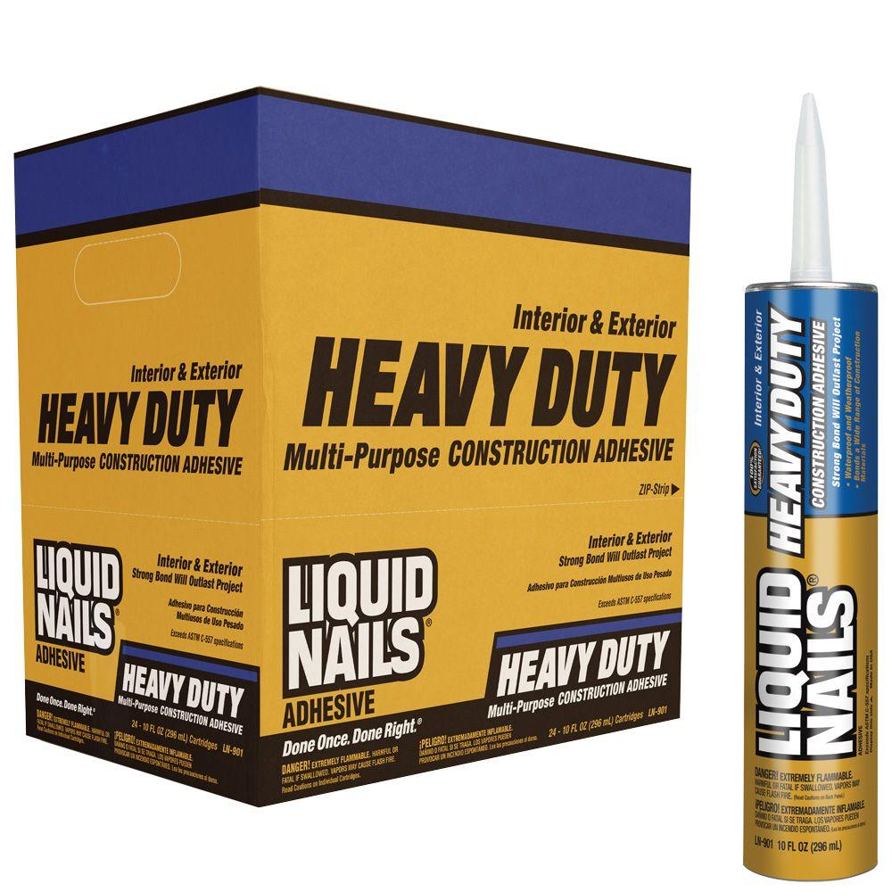 Liquid Nails 28-oz. Heavy Duty Construction Adhesive