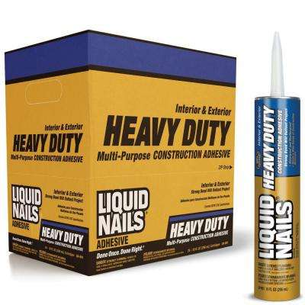 Heavy Duty 28 oz. Tan Solvent Based Construction Adhesive