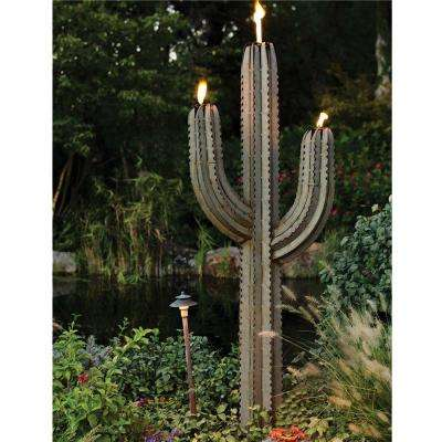 6.5 ft. Steel Saguaro Torch