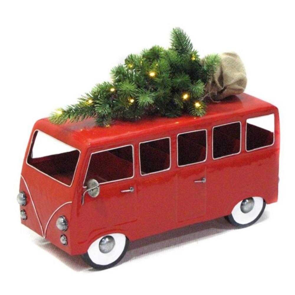 VW inspired Christmas Tree Bus