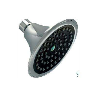 Sava 1-Spray 4.5 in. Single Wall Mount 1.5 GPM Fixed Shower Head in Chrome