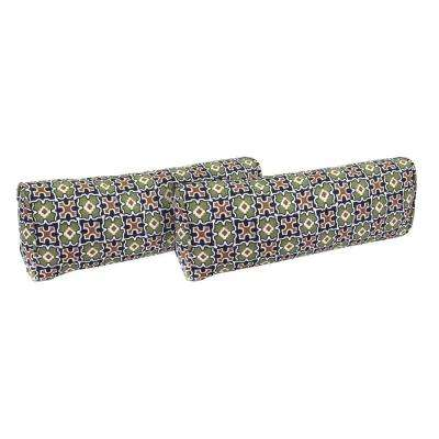Fall River Moss Outdoor Lumbar Pillow (2-Pack)