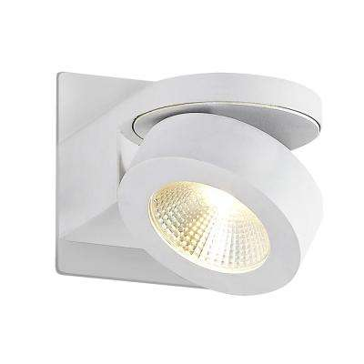 Acura Collection 10-Watt White Integrated LED Sconce