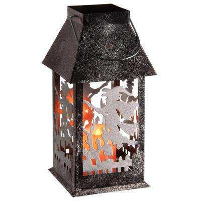 11.6 in. Witch Lantern with LED Lights