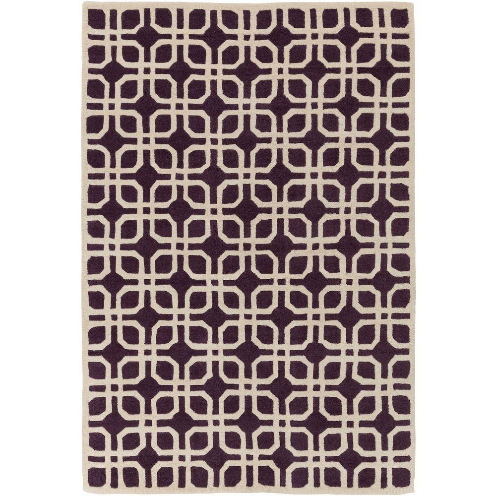 Transit Madison Purple 5 ft. x 8 ft. Indoor Area Rug