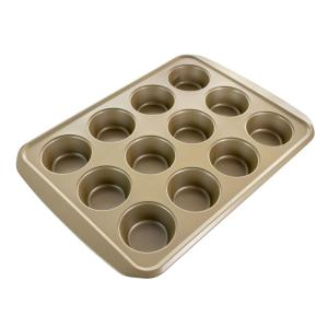 Elite 12-Cup Nonstick Carbon Steel Muffin Pan